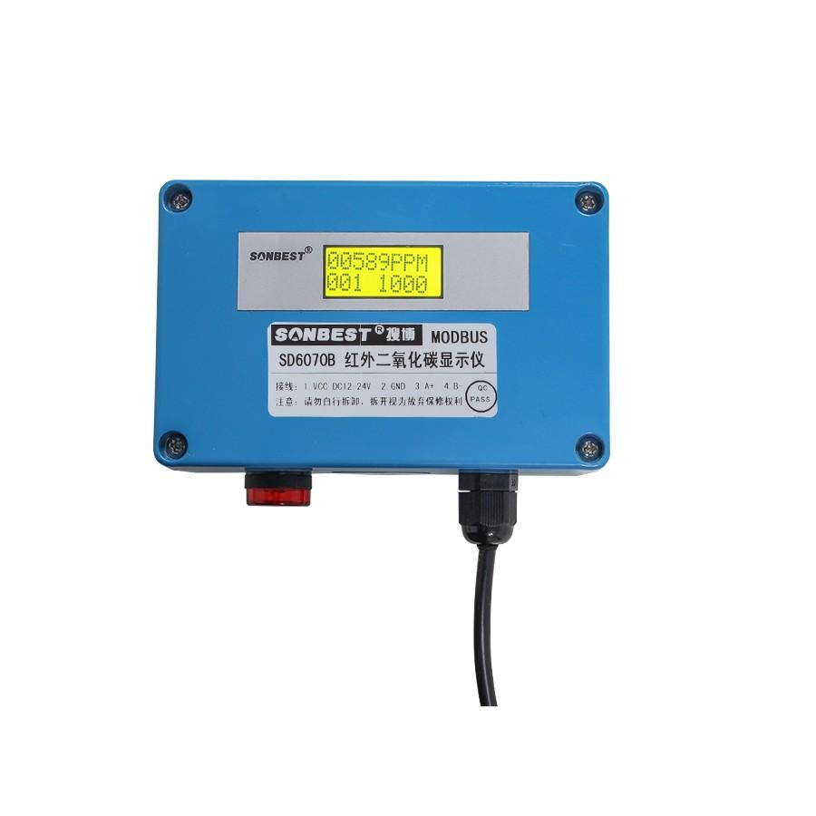 [SD6070B]工业防护型双光束红外二氧化碳传感器(带显示)