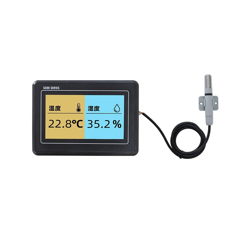 SD8820B七寸TFT彩屏温湿度显示仪