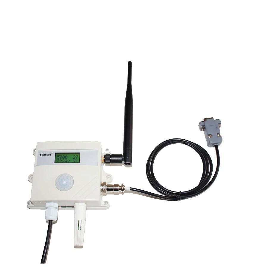 [SG2190D]GPRS无线温湿度光照度CO2一体式传感器