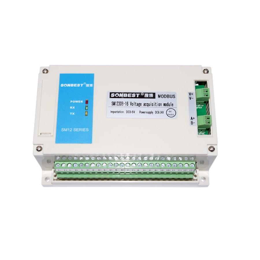 [SM1230B-16]RS485总线16通道电路电压采集记录仪