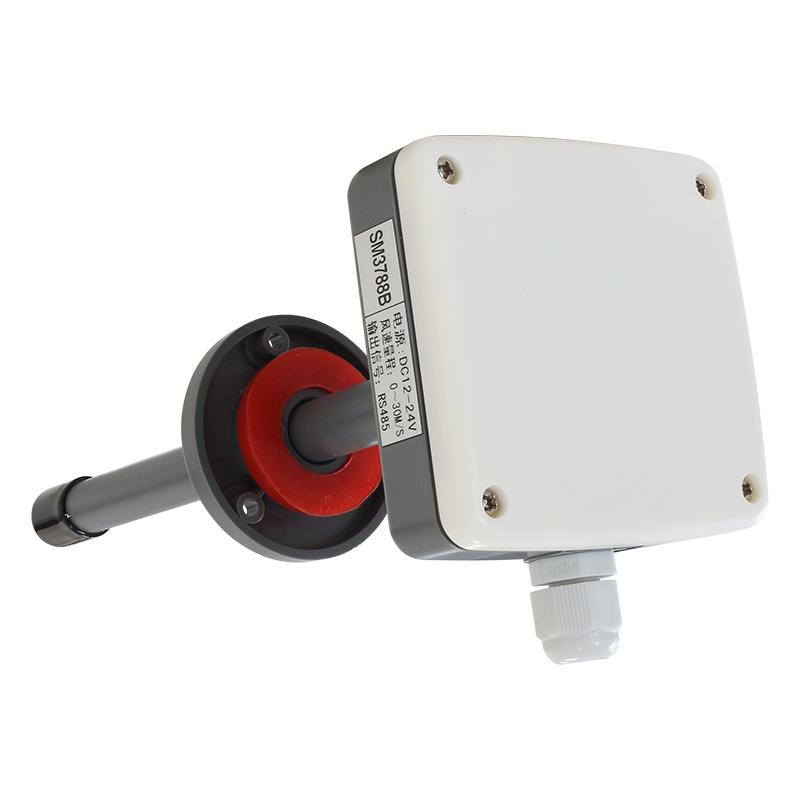 电流型宽量程管道风速传感器