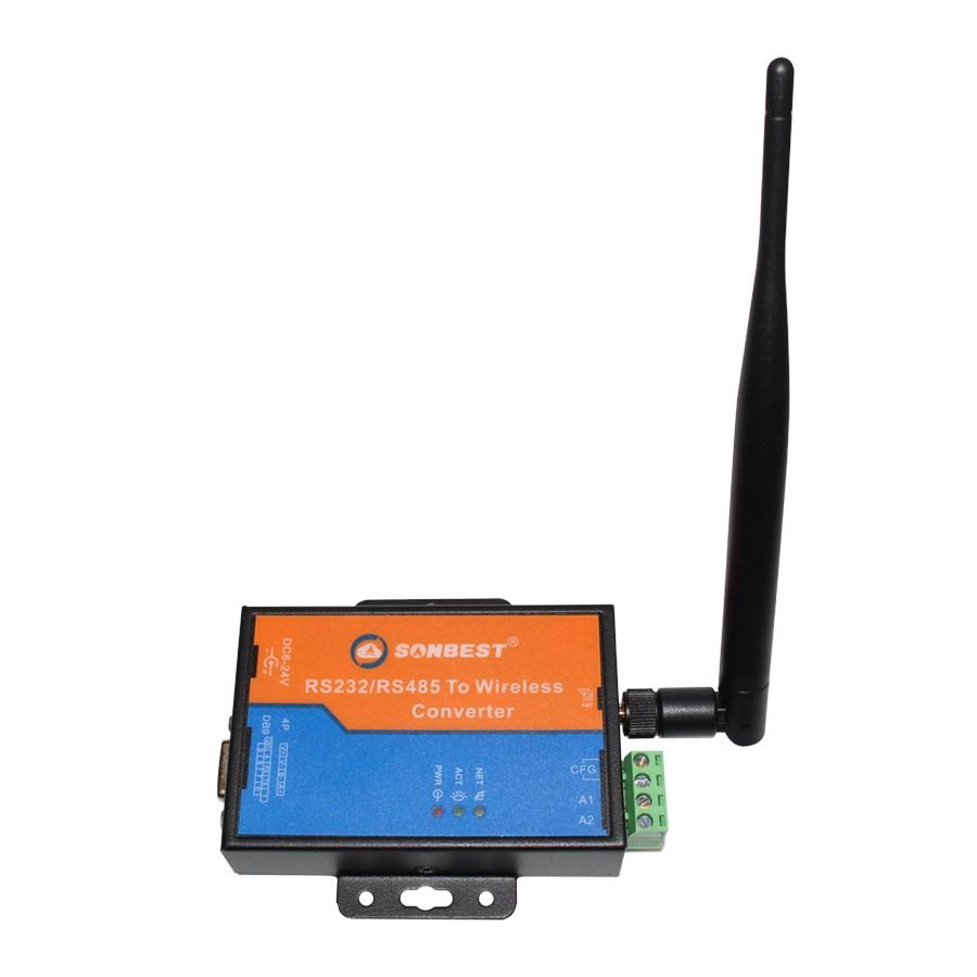 RS485接口工业级ZIGBEE无线采集模块