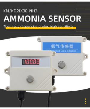 Wall-mounted ammonia sensor