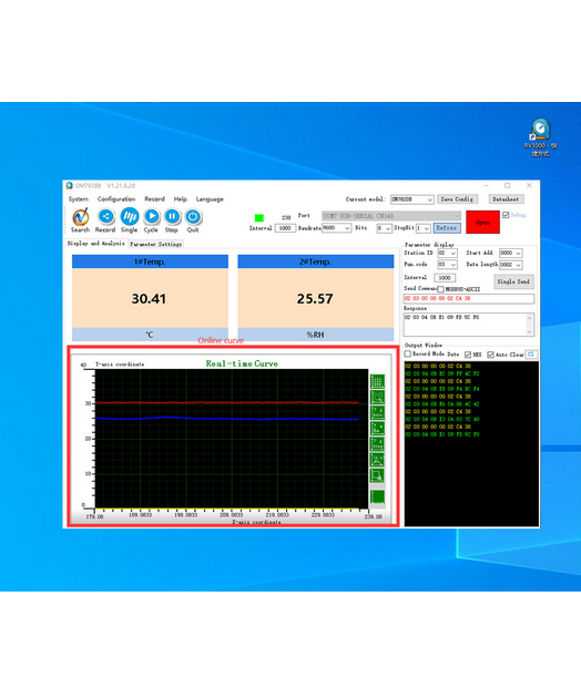 [RV1000]RS485 product general debugging software techvideo