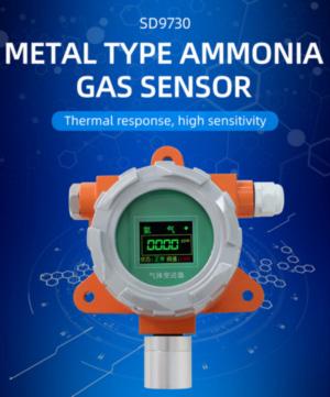 [SD9730V]Metallic Ammonia Voltage Sensor teaching video