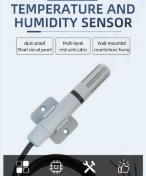 [SM7300B]RS485 bus type bracket type temperature sensing teac